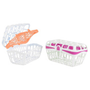 . 2 Pack Dishwasher Basket - Pink/Orange