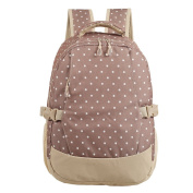 LCY Smart Organiser System Backpack Nappy Bag Beige Dots