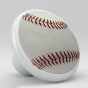 Sports Ceramic Porcelain Round Knobs
