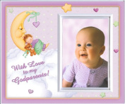 With Love to My Godparents (Girl) Picture Frame Gift