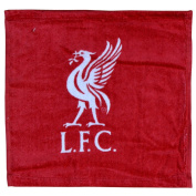 Liverpool FC Official Football Crest Face Cloth / Flannel Set (Pack Of 12) (30cm x 30cm )