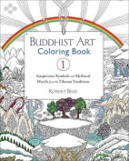 Buddhist Art Coloring, Book 1