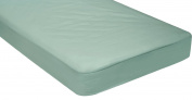 Cotton/Poly Fitted Cot Sheet-seafoam