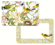 Counter Art CART45702 Botanical Birds Reversible Placemat