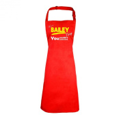 123t It's A Bailey Thing You Wouldn't Understand (RED) APRON