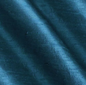 ArtOFabric Dupioni (Faux Silk) Table Runner 30cm X 180cm - Teal Blue