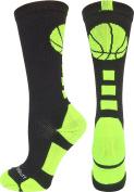 Basketball Logo Crew Socks