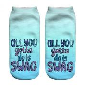 Funny Sock All Your Gotta Cartoon Animal Print For Woman Man Boy Girl Free Size