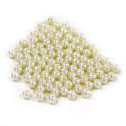 Koyal Wholesale 0.5kg Loose Pearls Table Decor Vase Filler, 10mm, Ivory
