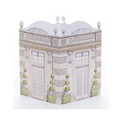 Architectural Watercolours Table Lantern, Le Pavilion, 15cm x 20cm
