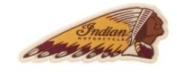 Indian Motorcycle Colour Headdress Patch
