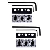2 pcs Electric Guitar Locking Nut String Lock Shim Adjust