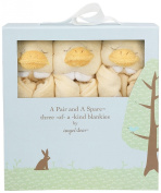 Angel Dear Pair and a Spare 3 Piece Blanket Set, Duck