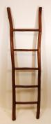 170cm H Teak log ladder