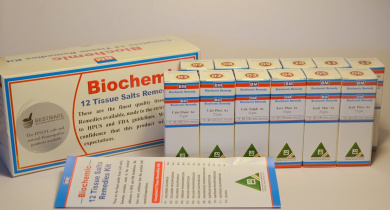 Tissue Cell Salt Kit (Economy Packing Includes Easy to Use Chart for Remedy Selection)
