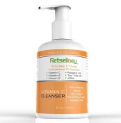 Retseliney Best Vitamin C Face Wash, Vegan, Natural & Organic Facial Cleanser with 15% Vitamin C, Tea Tree Oil, Soap Free, Deep Pore Cleanser, Anti Ageing & Antioxidant for Men & Women 120ml