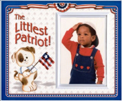 The Littlest Patriot! - Picture Frame Gift