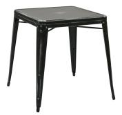 Work Smart/OSP Designs Bristow Metal Table, Antique Black