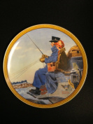 """""""The Journey Home"""" Plate V of """"Norman Rockwell's Colonials"""