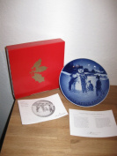 """2003 Bing and Grondahl Christmas Plate """"Frosty the Snowman"""""""