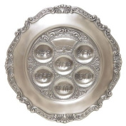 Gloria's Gifts Pewter Passover Plate