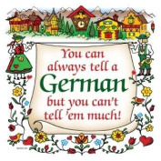 German Gift Ceramic Wall Hanging Tile