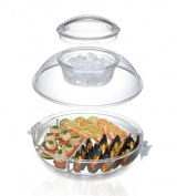 Prodyne Iced Up Appetisers to Go Carry and Serve Tray