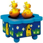 "MusicBox Kingdom 43776 Giraffe Music Box Playing ""Talk to The Animals"""