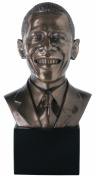 American President Obama Bust Inspirational Leader Statue Figurine Art