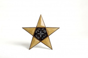 Hosley's Resin and Metal Wall Star - 25cm Long