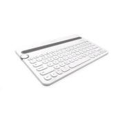Logitech K480 WHITE Bluetooth Multi-Device Keyboard - White