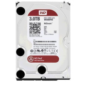 "WD 3TB Red 3.5"" SATA3 5400RPM 64M Hard Drive Designed and tested for RAID environments 1-8 Bay NAS ,"