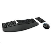 Microsoft Sculpt Ergonomic Desktop USB Wireless Keyboard &Mouse Combo 2.40 GHz