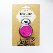 DCI Tea Time Tea Infuser, Black/Pink