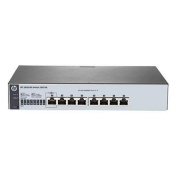 HP OfficeConnect 1820 8G Web Managed Ethernet Switch, 8 Port RJ-45 GbE, Lifetime Warranty