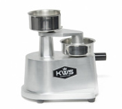 KWS HP-100 Hamburger Patty Press, Silver