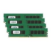 Crucial 32GB Kit (8GB X 4)DESKTOP DDR4 2133Mhz DIMM 288pin 1.2v Quad Channel Kit Non ECC PC4-17000
