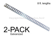 E Track Trailer Tiedowns 2.4m Horizontal Galvanised - 2 Pieces