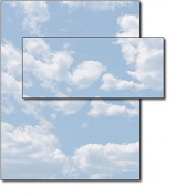 Clouds Letterhead & Envelopes - 40 Sets