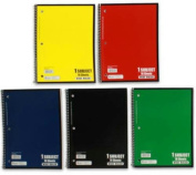 Norcom College Ruled Spiral Bound Notebook 70 Sheets Assorted Colours