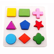 1pc Geometry Cognition Matching Puzzle Learning & Activity Toys for Children's Enlightenment