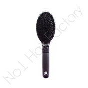 10x Black Hair Extension Loop Brush For Silicone Micro Rings