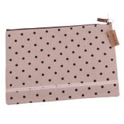 Snykk Bag black Dots spotted Moult Pencil Cases Sloppy Roll Pin Solution Pencil Solution solution Pen solution Fabric Schulmappe vegan