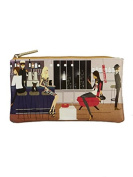 Filosofille Lined Make-Up Bag with New York Print 21 x 12 cm