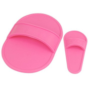 Popamazing 5pcs Smooth Away Legs Skin Pads Arm Face Hair Removal Remover Exfoliator Set