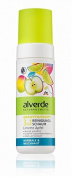 Alverde Lime Apple 3-in-1 Cleansing Foam for Face - For Normal and Combination Skin - Not Tested on Animals / Vegan -150 ml