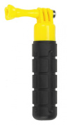 Kitvision Buoy Floating Textured Silicone Grip Handle for Action Cameras, Compatible with Kitvision Splash/Escape/Edge and GoPro Hero (3, 3+ or 4) - Black/Yellow