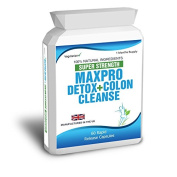 Body Smart Herbals - 60 Max Cleanse Pro Colon Cleanse Detox Diet Slimming