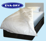 KLEEN EVA Dry Waterproof Single Quilt duvet Cover. Incontinence aid, 140cm x 200cm