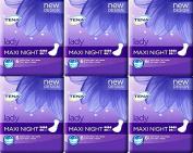 Tena Lady Maxi Night 6 Pads x 6 Packs